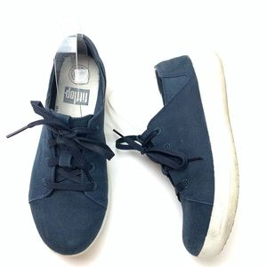 FitFlop navy blue sneakers women's sz 6.5